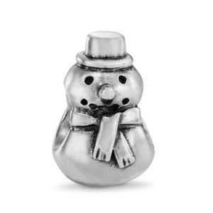Pandora Snowman Charm retired discontinued